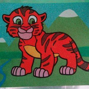 рисунки цветным песком в киеве 14
