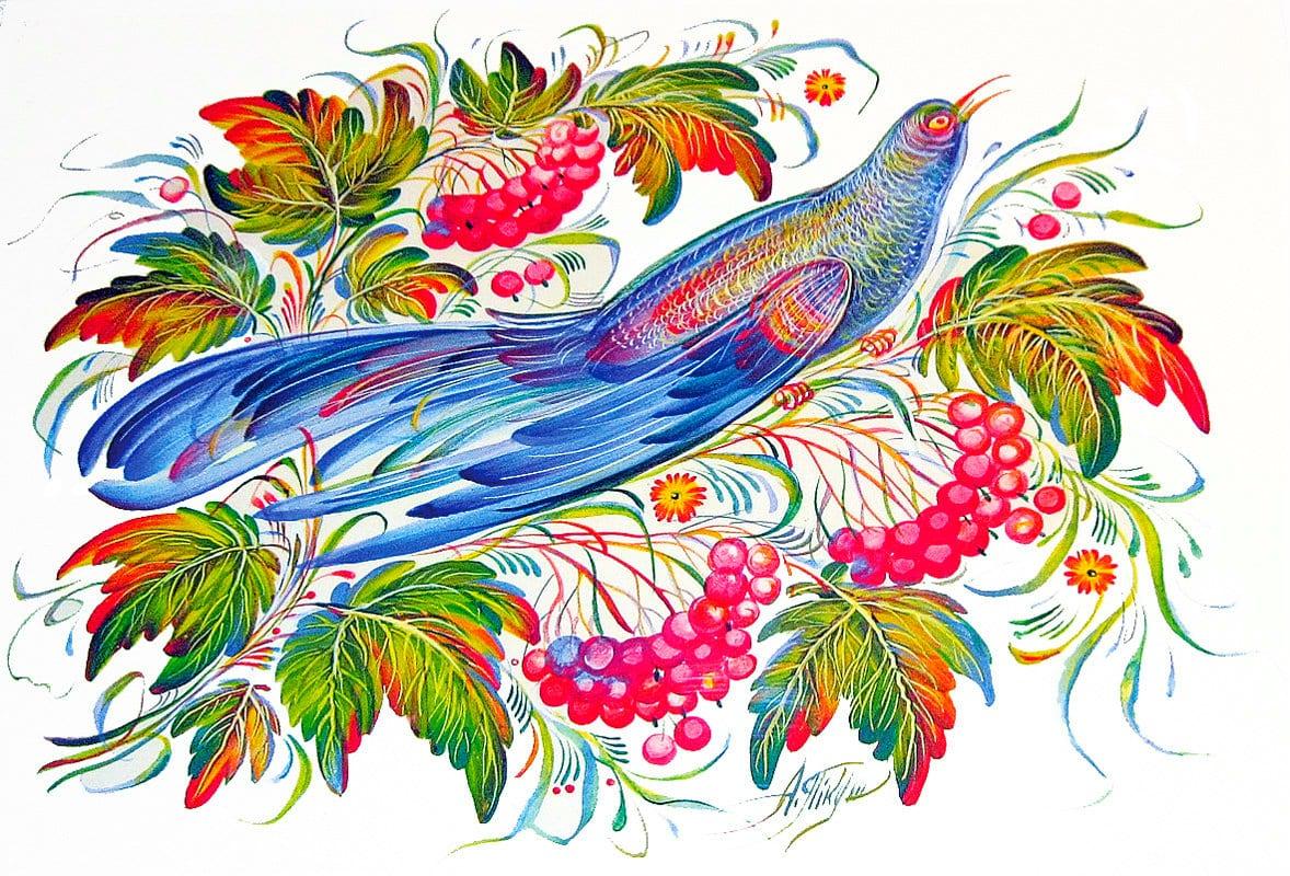 Декоративные росписи в картинках
