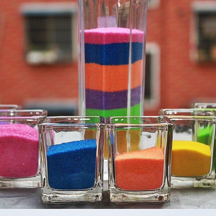 Картинки разноцветного песка