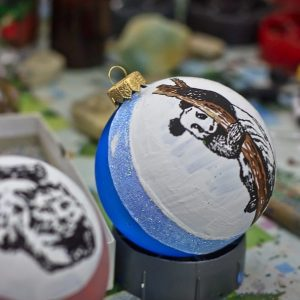 Фабрика елочных игрушек. Киев