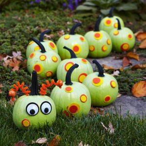 Детский декор тыквы на Хэллоуин
