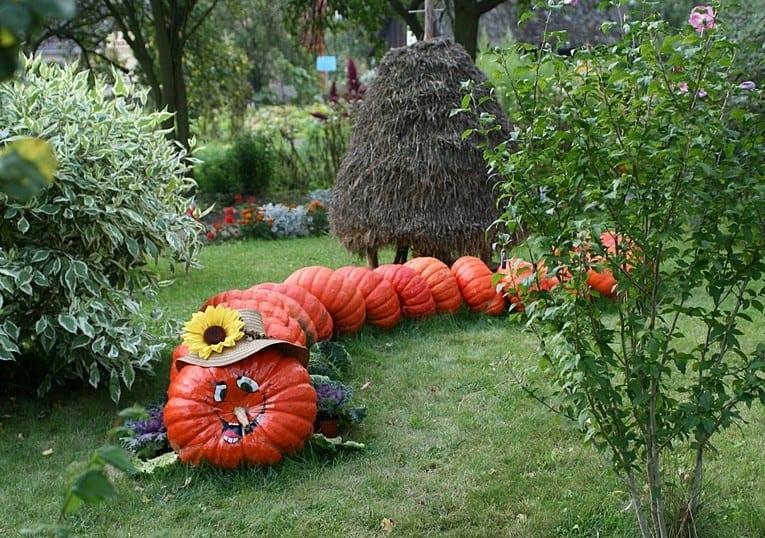 Фигурки из тыквы для Хэллоуина 5