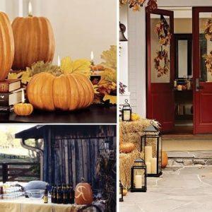 Хэллоуин, декор дома 1