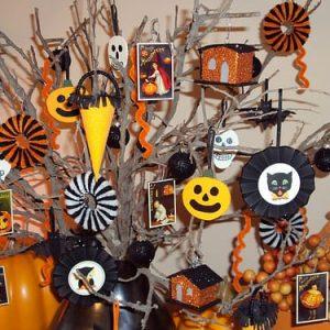 декоративная композиция к Хэллоуину