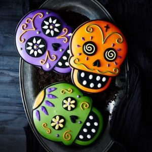 пряники на хэллоуин для детей