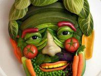 Фигурки из овощей. Кулинарный мастер-класс