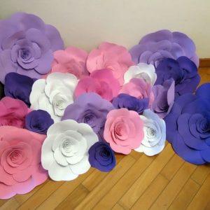 paper flowers v kiev