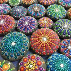 точечная роспись камня для начинающих в киеве