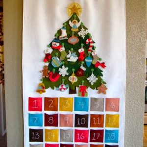 Адвент-календарь своими руками 2