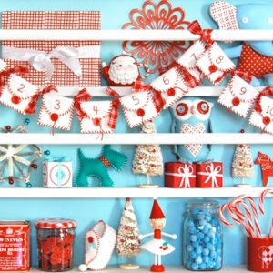 Рождественские календари своими руками 15