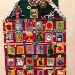 Рождественские календари своими руками 23