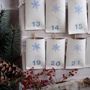 Рождественские календари своими руками 4