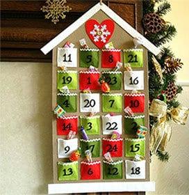 Рождественские календари 6