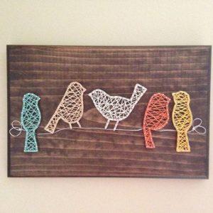 птички стринг-арт