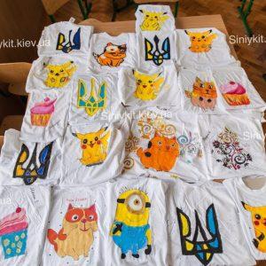 Роспись футболки в киеве_1