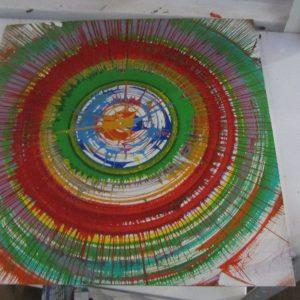 Мастер-класс в технике Spin Art 6