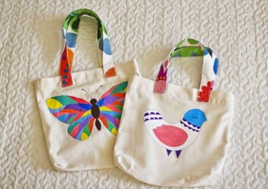 bd3aad110dda Роспись эко-сумки из хлопка. Эко-сумки своими руками киев