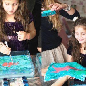 рисование на воде мастер класс киев 8