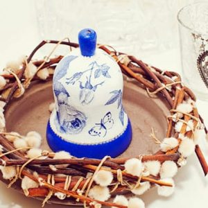 роспись керамических и стеклянных изделий 1