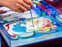 Мастер-класс  по Эбру — рисование на воде