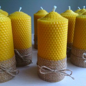 candle large honeycombs