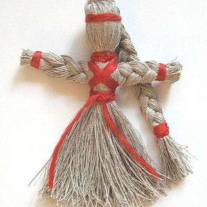 Народные куклы из пряжи (ниток)