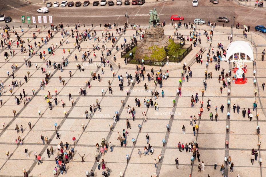 Софийская площадь. Фестиваль писанок 2016. 374 художника