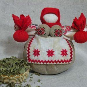Зерновая кукла-мотанка_3