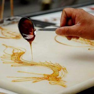 искусство рисования карамелью