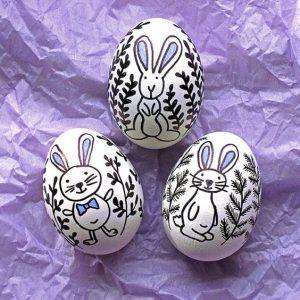 Пасхальные яйца своими руками. _54