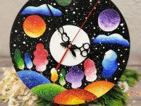Мастер-класс Часы из виниловых грампластинок