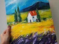 Мастер-класс по живописи на выезде