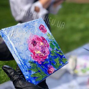 Мастер-класс по живописи на выезде в киеве