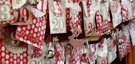 Рождественские календари своими руками для детей