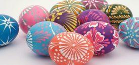 Пасхальная роспись яиц 8
