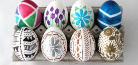 Пасхальные яйца своими руками. Варианты праздничного декора