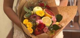 мастер-класс по созданию фруктового букета в киеве